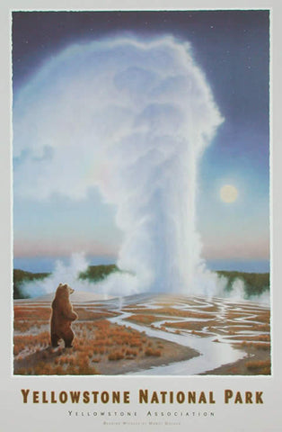 Yellowstone National Park: Bearing Witness-Signed