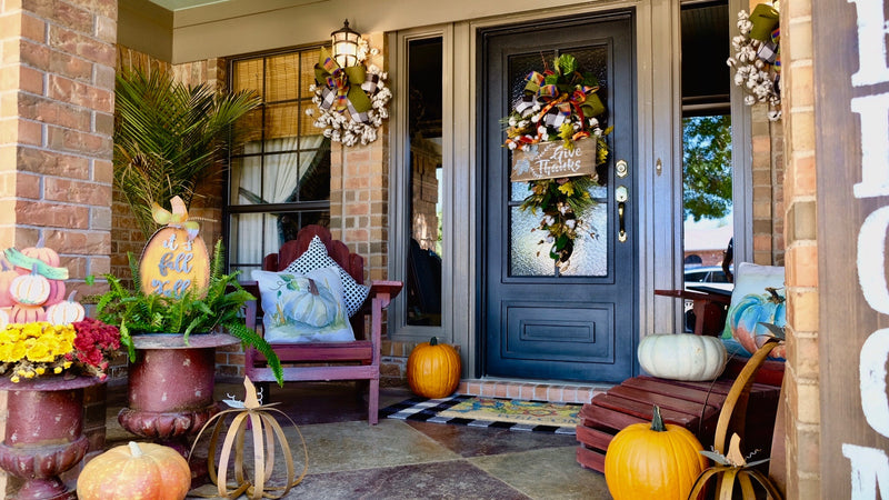 Create a Fall Front Porch with Layers