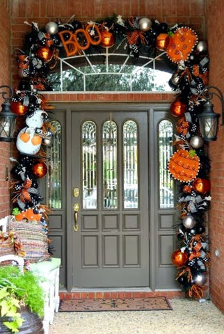 Becky's Halloween Front Door