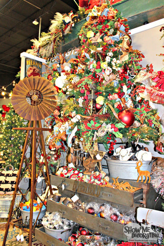West Texas Christmas Tree Theme