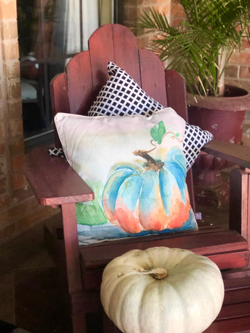 Fall Decorative Pillows for Front Porch