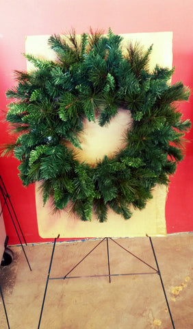 Show Me Decorating Santa #diywreath #diychristmas #wreaths