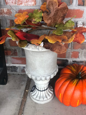 Fall Flower Pot