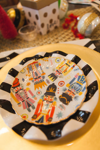 Anthropologie and Coton Colors Christmas Plates