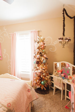 Pretty in Pink for a little girls room