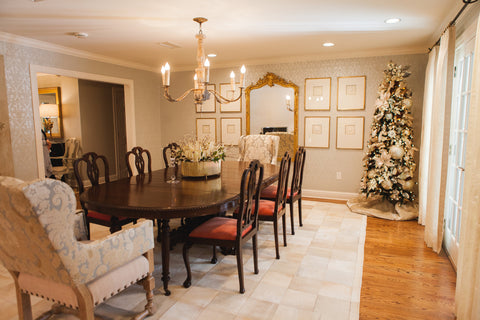 Dining Room Glitz and Glam