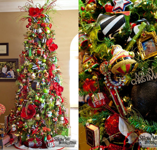 Decorate Christmas Tree Like Department Stores: A Christmas Tree Home Tour, A Christmas Tree For Every