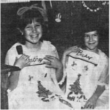 Kathy and Becky have been decorating for Christmas since they were little girls!