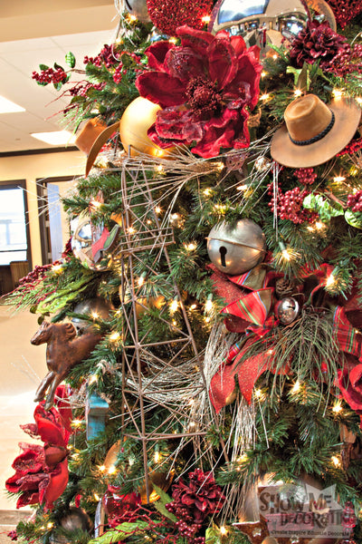 A Western Themed Christmas Tree Miss Cayce 39 S Christmas Store