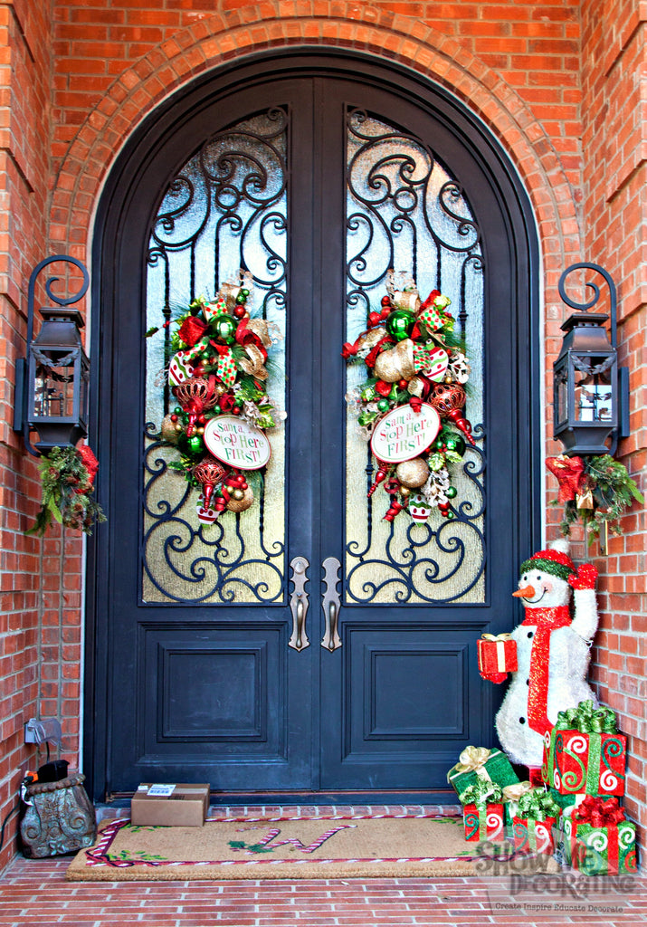 Show Me A Ho Ho Happy Christmas Doorway Miss Cayce S
