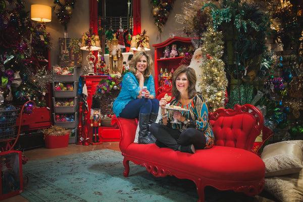 Enjoy a warm cookie and sip a soft drink while you shop at Miss Cayce's Christmas Store, home of Show Me Decorating, Midland, Texas