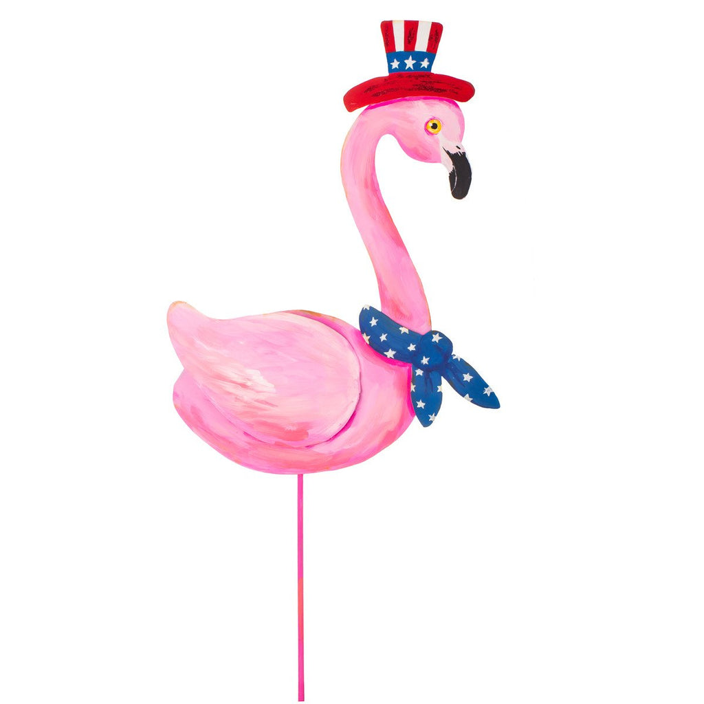 Uncle Sam Flamingo