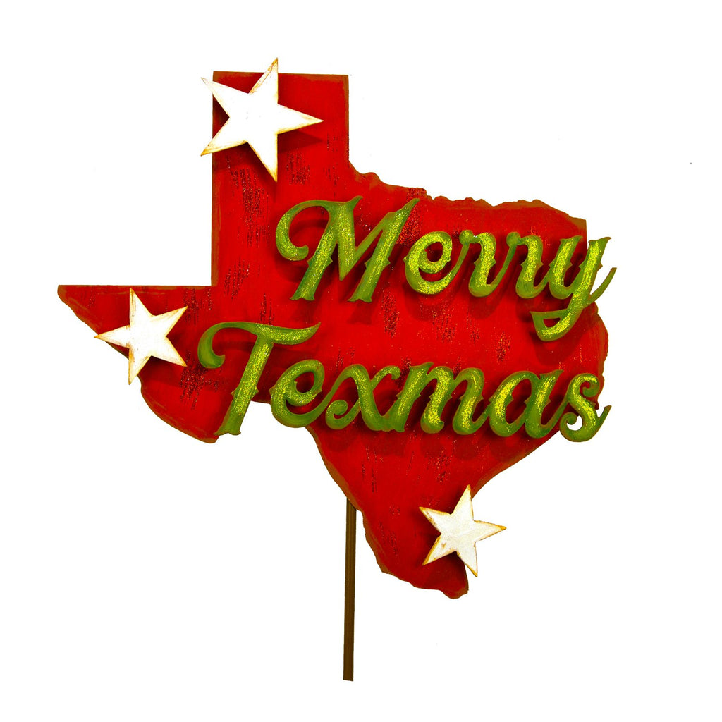 Merry Texmas Sign