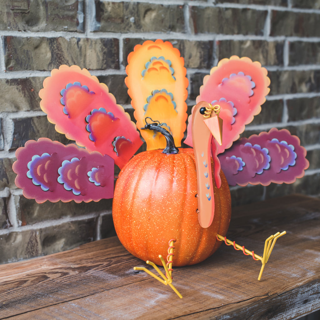 Traditional Turkey Pumpkin Parts, Large