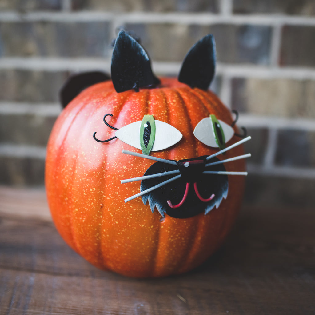Black Cat Pumpkin Parts
