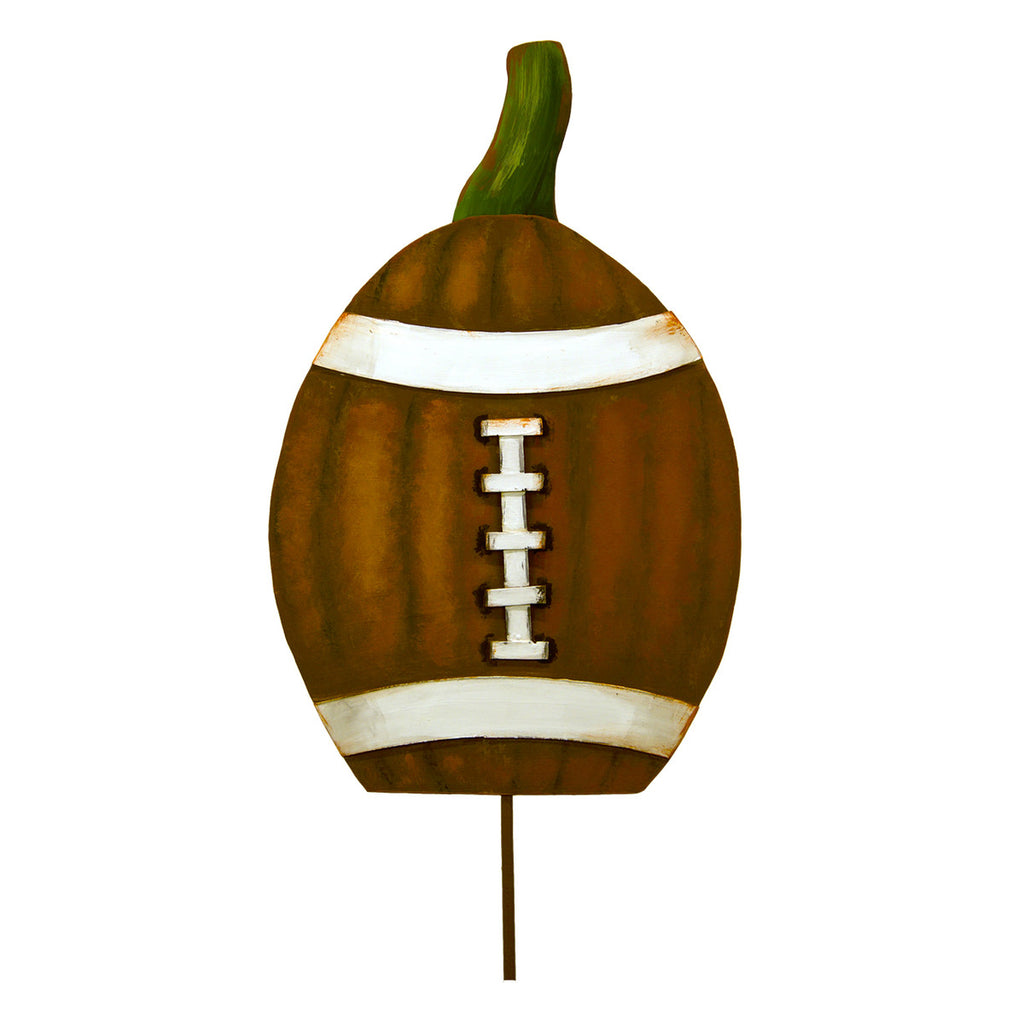 Football Pumpkin
