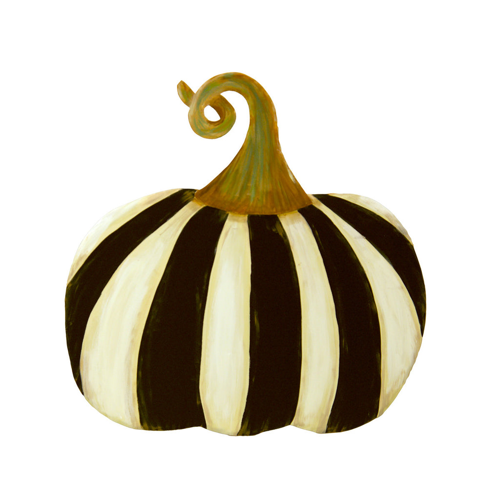 Black and White Striped Pumpkin, Short