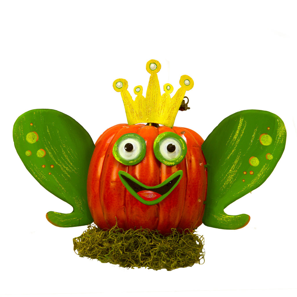 Frog Prince Pumpkin Parts, Set of 6 pieces