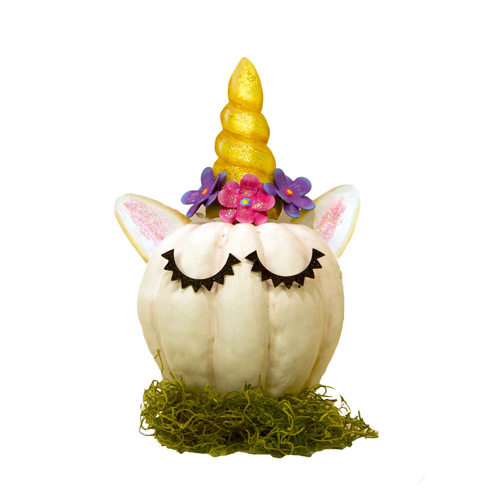 Unicorn Pumpkin Parts, Set of 5