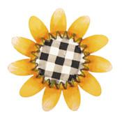 Buffalo Checked Sunflower Magnet