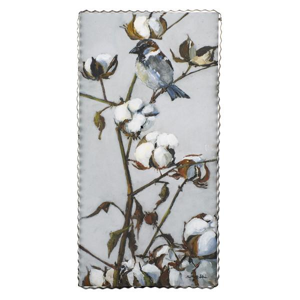 Gallery Cotton With Bird
