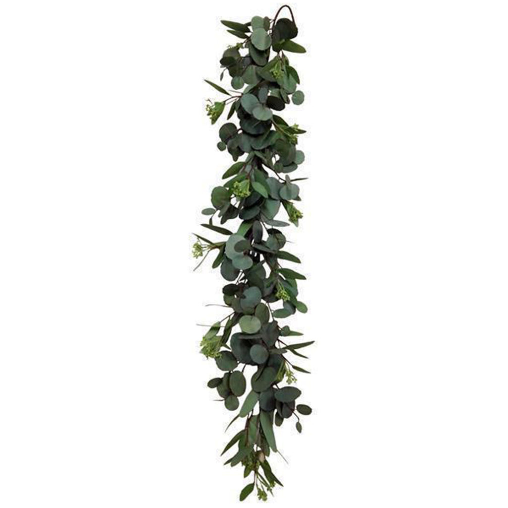 4'  Mixed Eucalyptus Garland