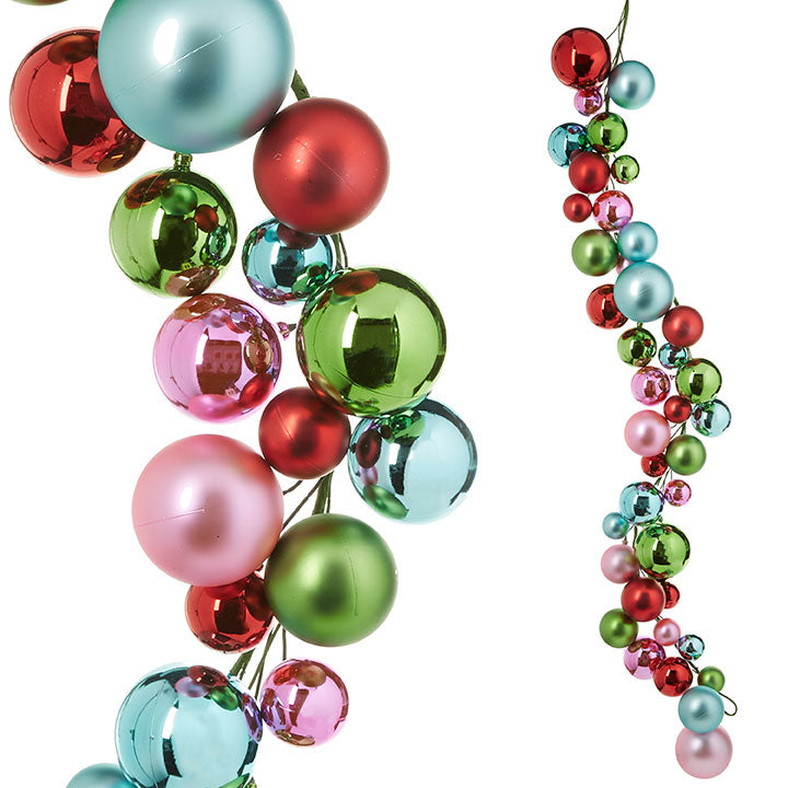 4' Multi Dense Ball Garland