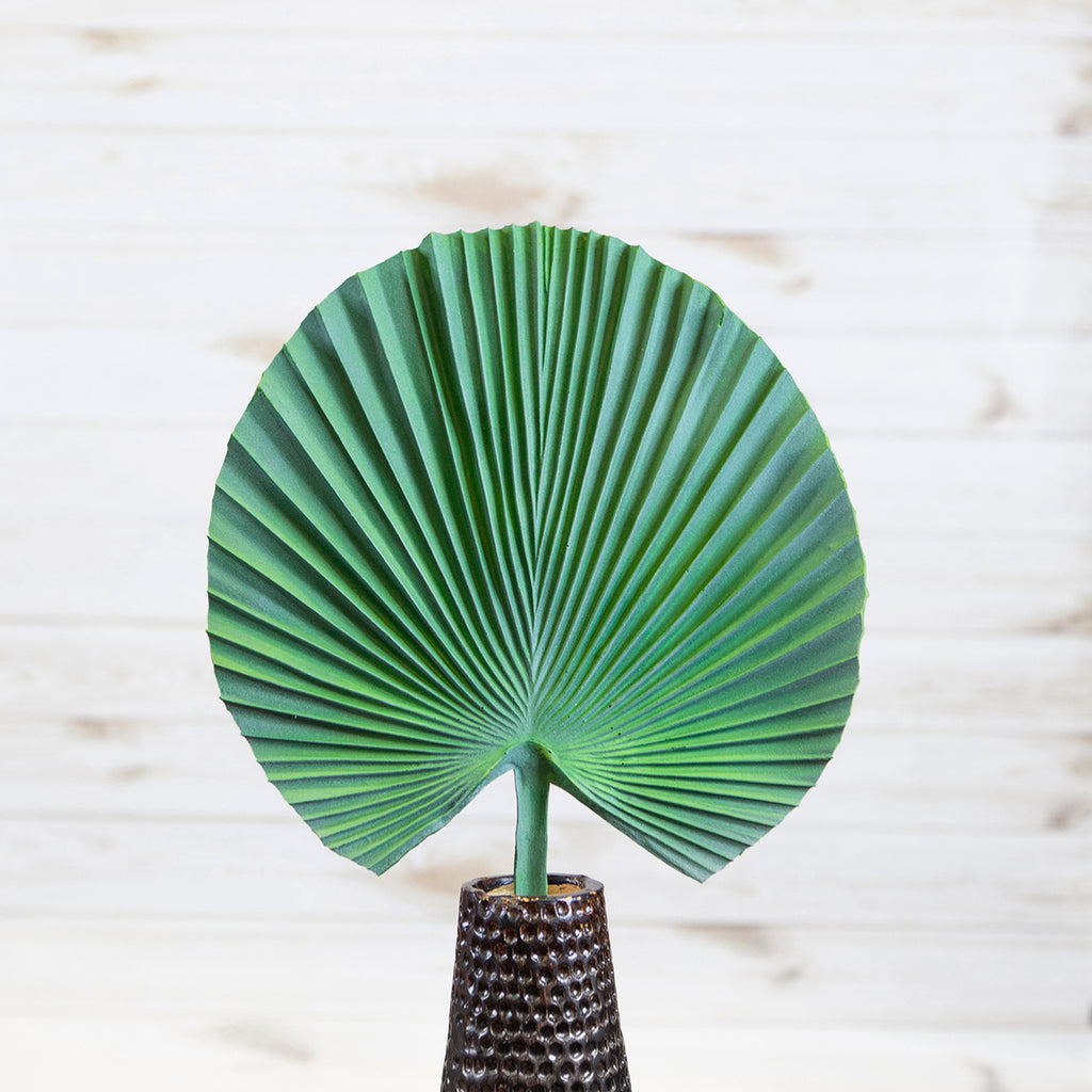 Green Palm Leaf Small Stem