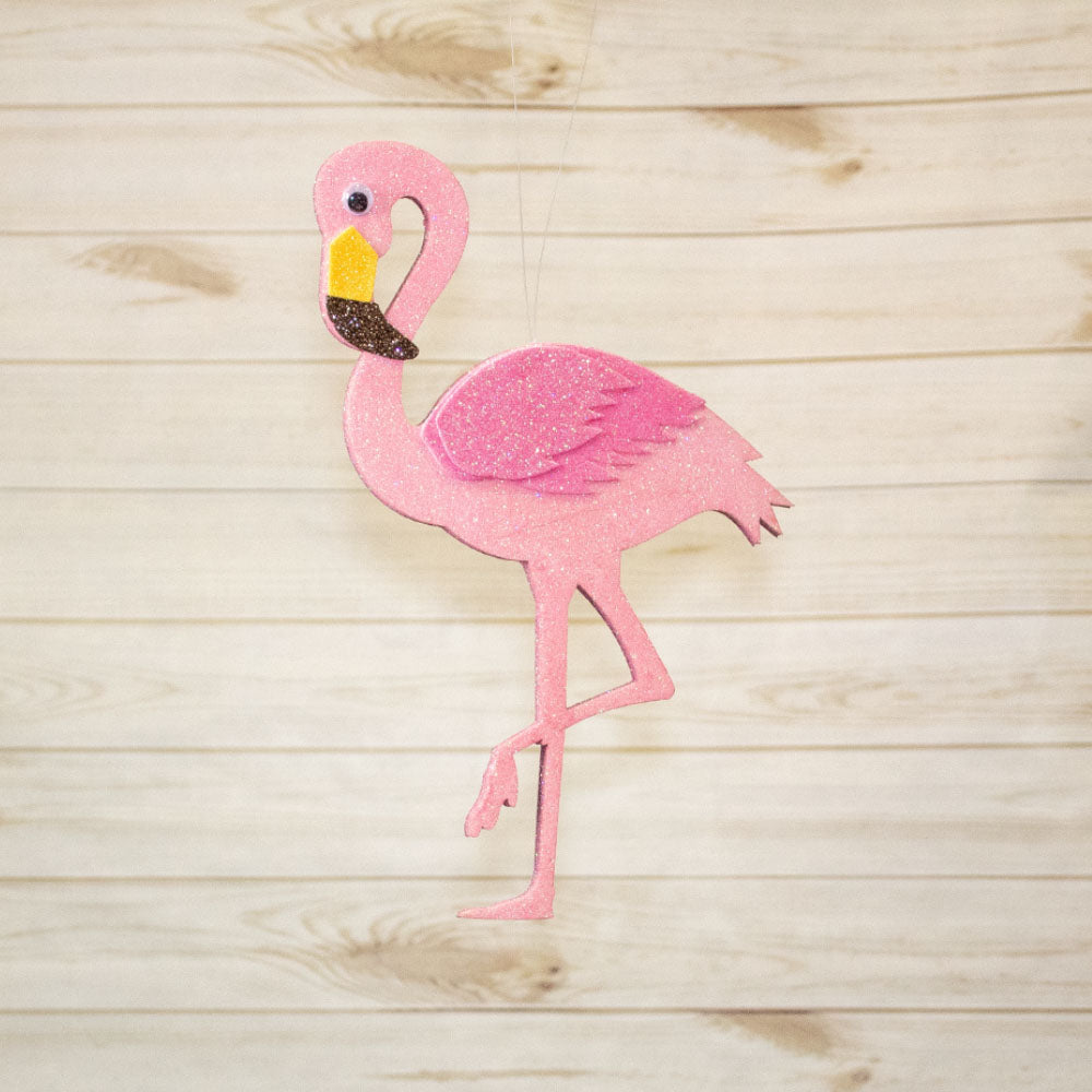 Pink Flamingo Hanging Decor