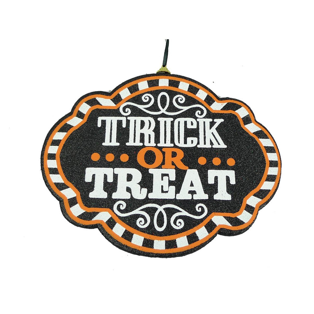 Orn Treat Or Treat Sign