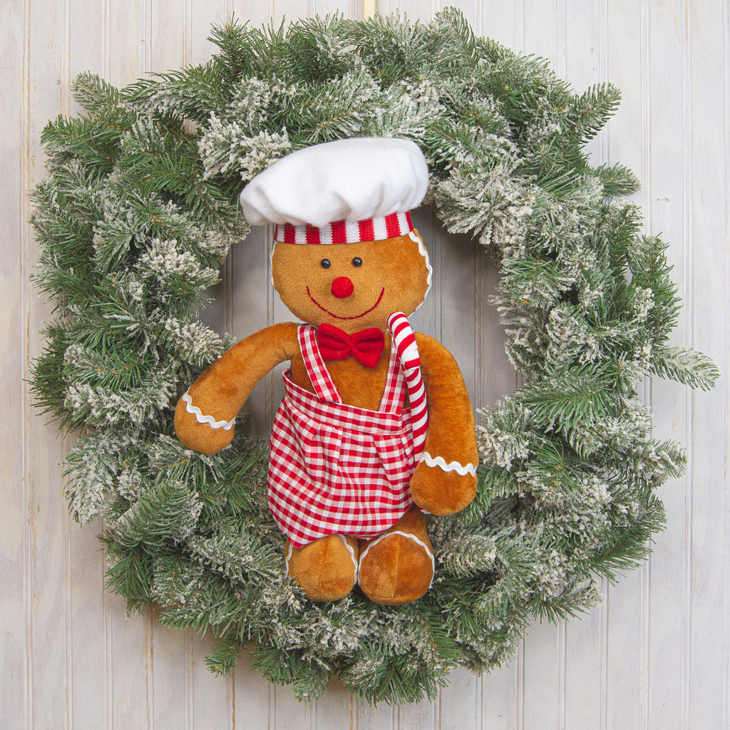 Plush Gingerbread Chef