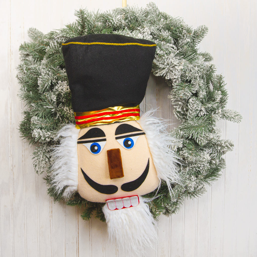 Black Plush Nutcracker