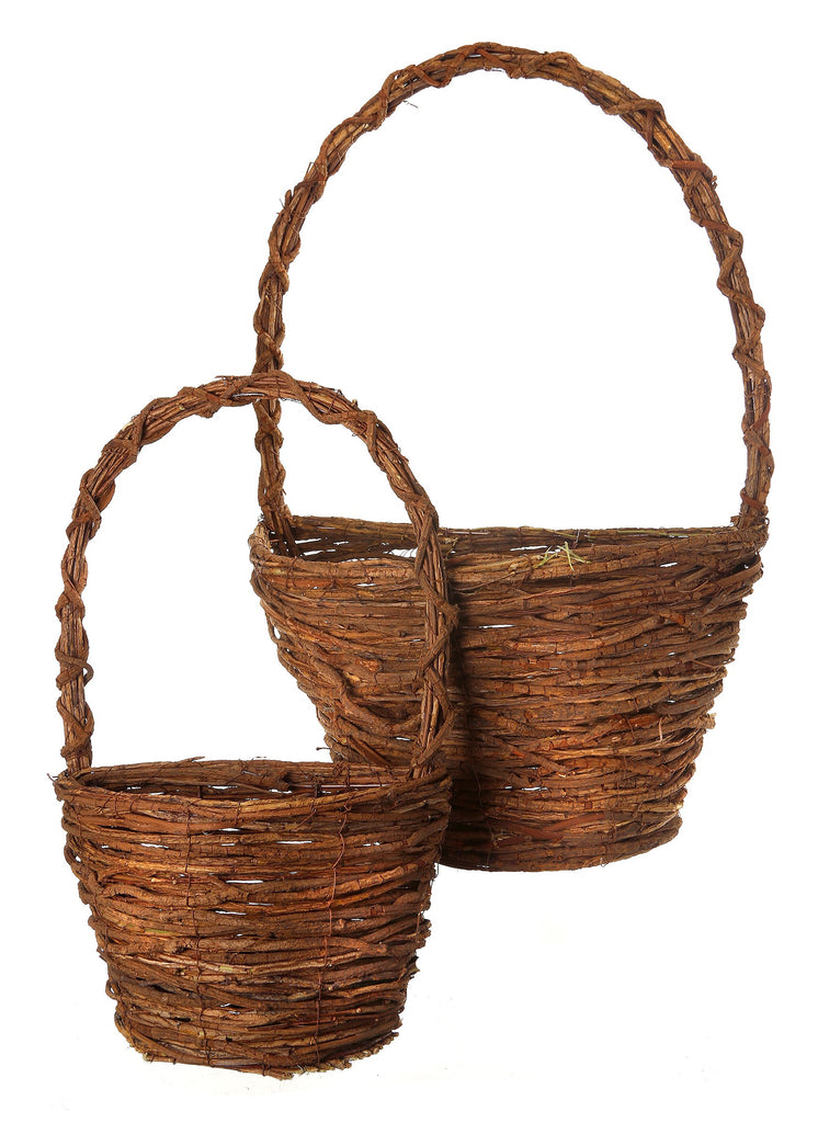 Grapevine Wall Basket