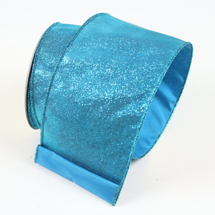 Sheer There Turquoise Ribbon