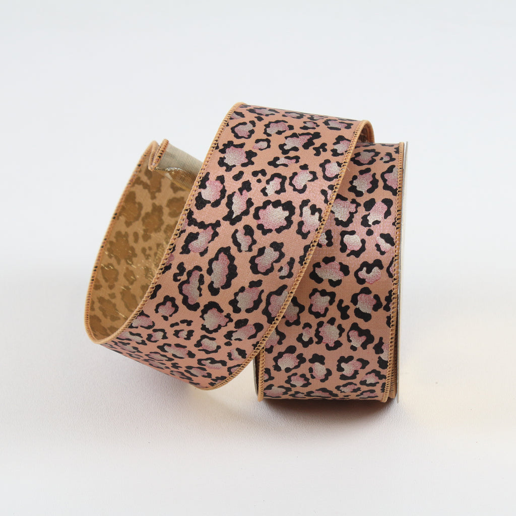Trendy Cheetah Blush Ribbon
