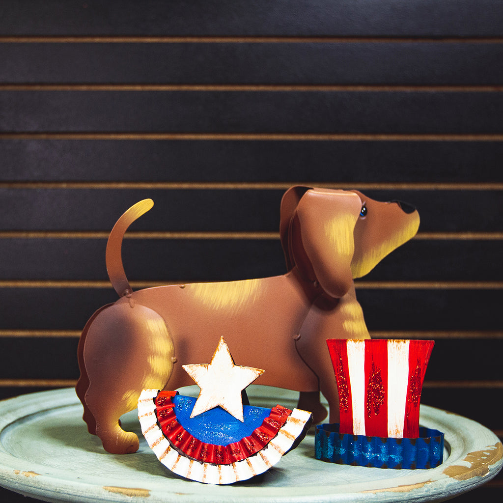 Dress-Up Dachshund Americana Outfit