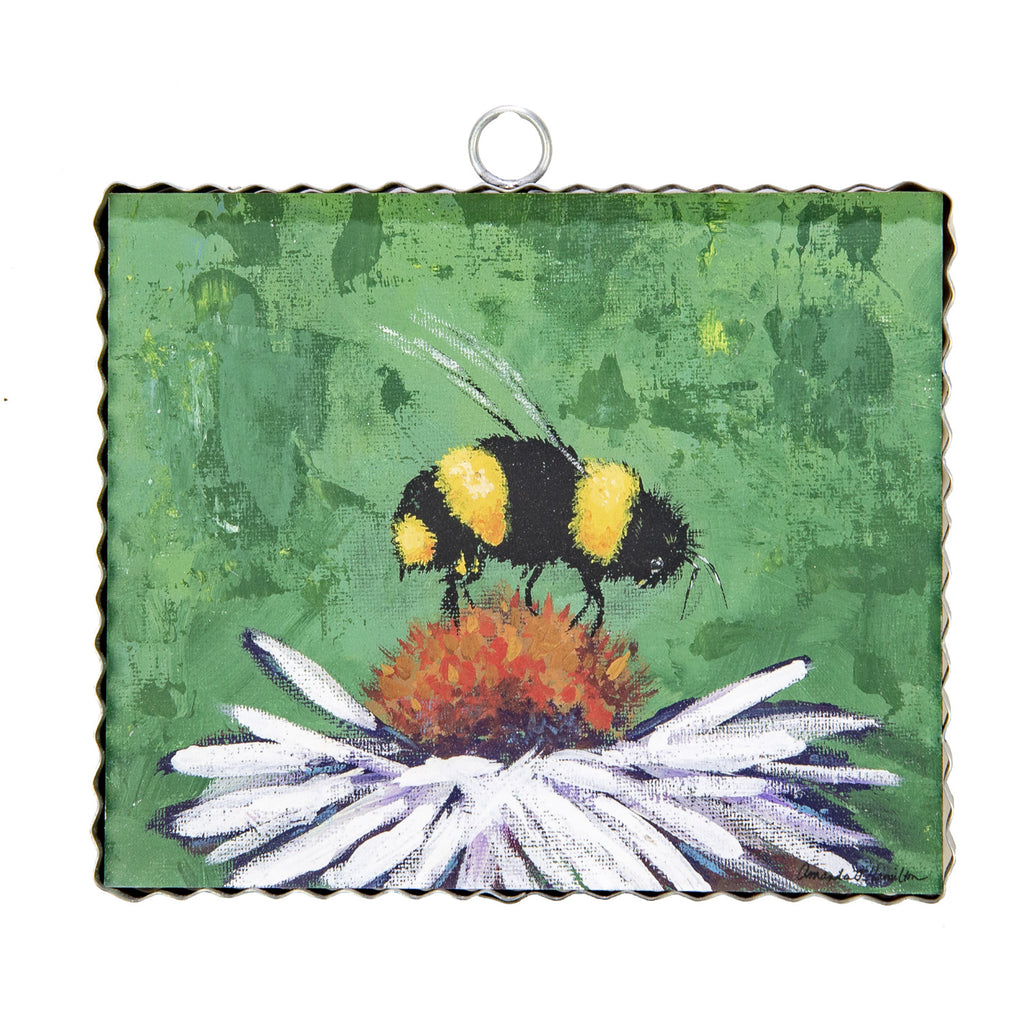 Hamilton Honey Bee with Coneflower Charm
