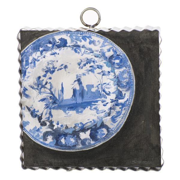 Gallery Blue and White Plate Art
