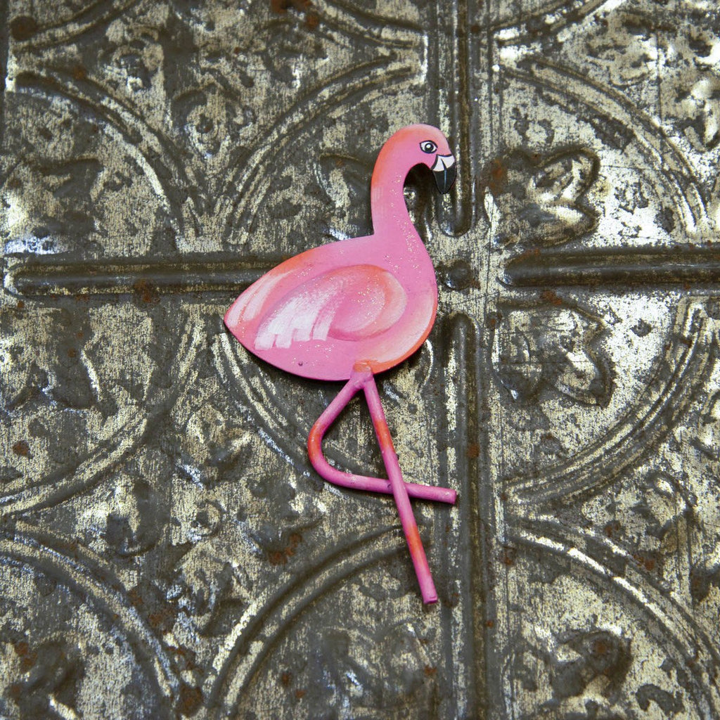 Flamingo Party Magnet