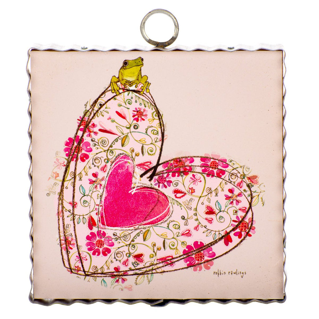 Rawlings Floral Heart Art
