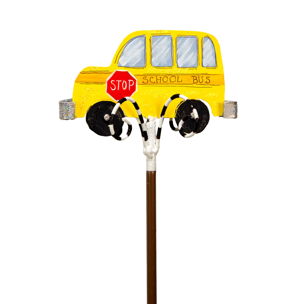 School Bus Finial