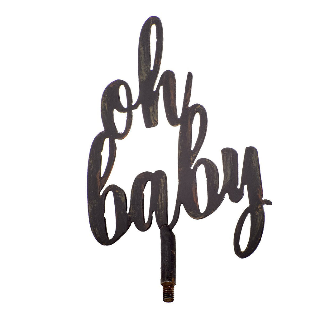 """Oh Baby"" Finial"