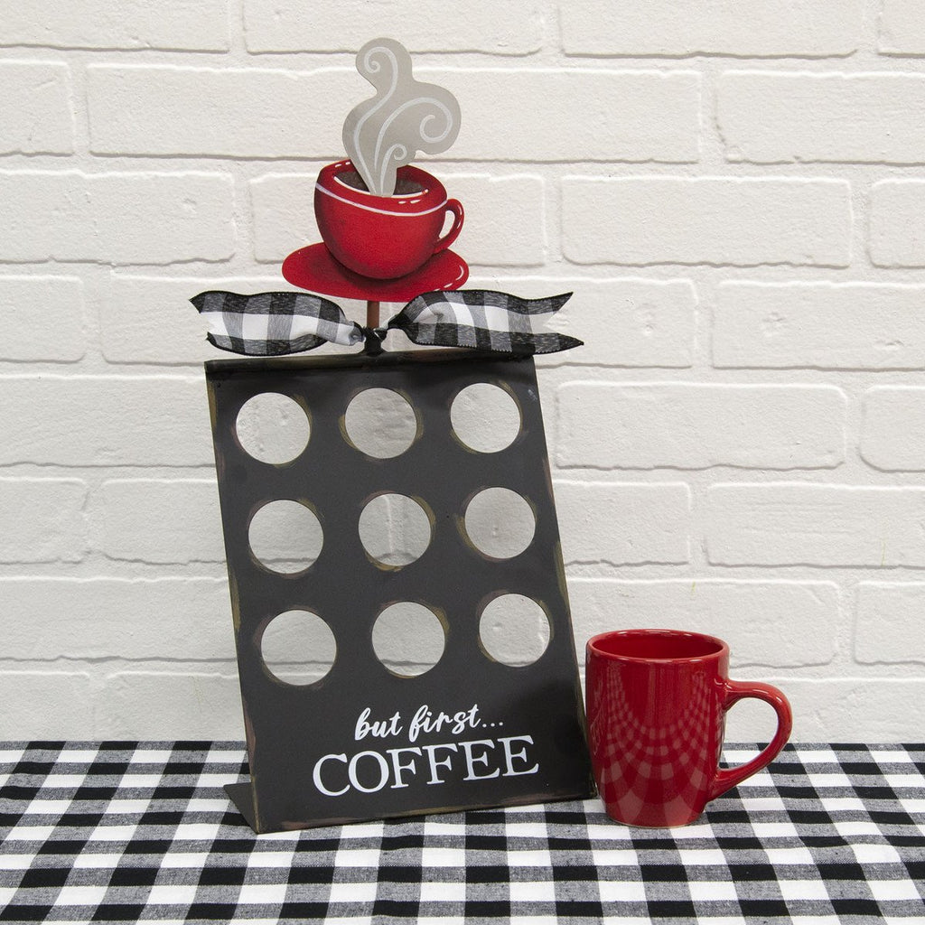 Coffee Pod Finial Holder