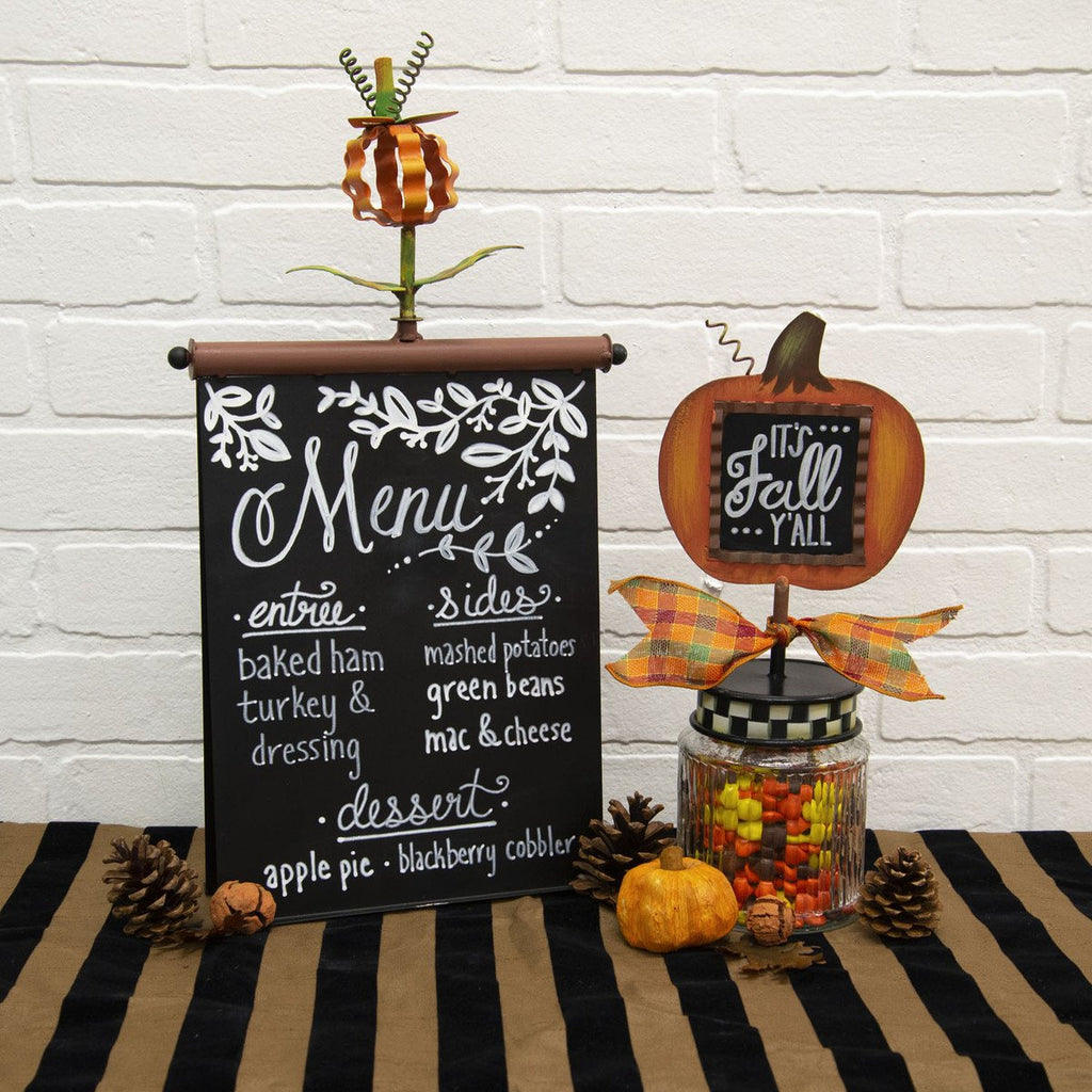 Menu Board Finial Holder