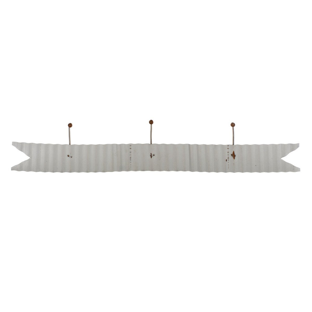 Corrugated Horizontal 3 Picture Hanger Ribbon Banner