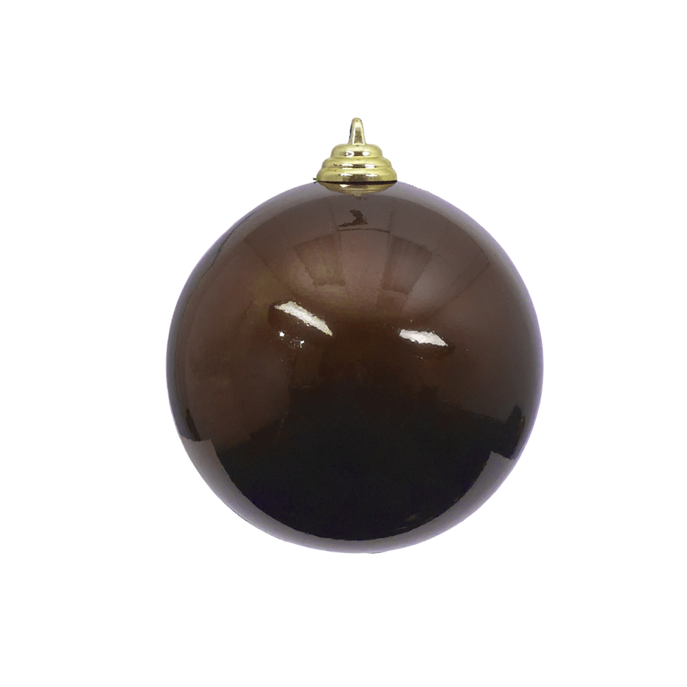 Chocolate Candy Apple Ball Ornament