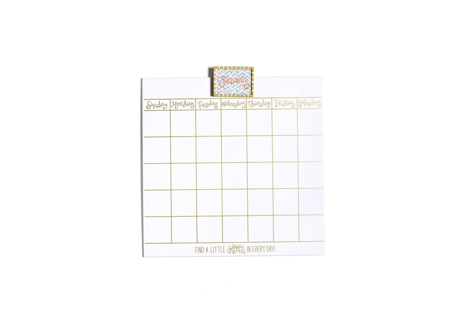 Happy Everything Small Dry Erase Calendar