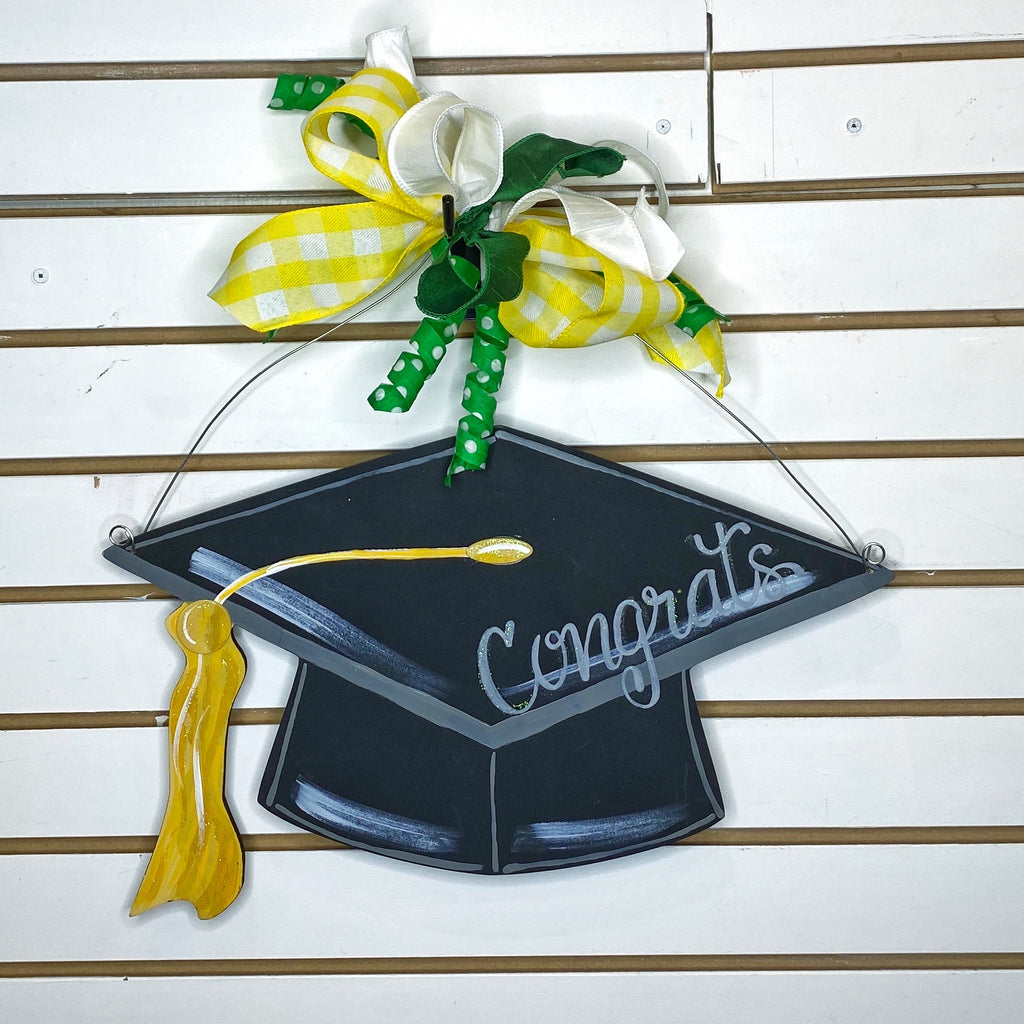 Graduation cap and bow