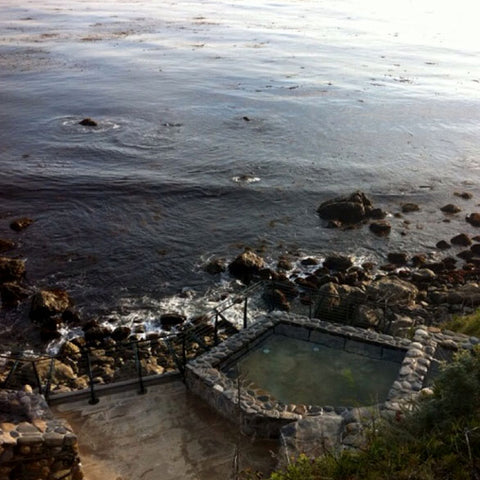 Esalen Institute hot springs, Epic Big Sur Road Trip