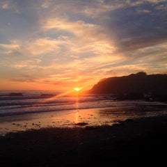 San Simeon Lodge Sunset, Epic Big Sur Road Trip